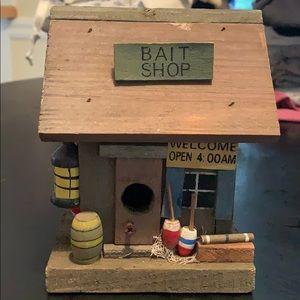"""Wooden """"Bait Shop"""" Nautical Decor"""
